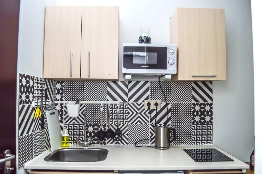 Фотография номера «Средняя студия» в апарт-отеле VNorke.ru